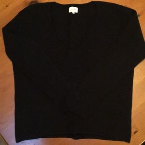Aritzia Wilfred silk and cashmere sweater